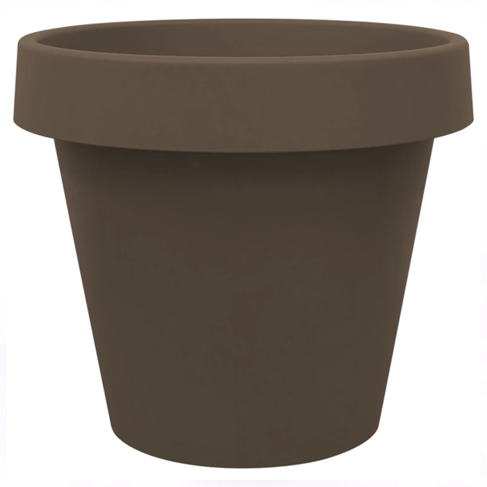 BABA MJ-400 Plastic Pot (Zen Brown)