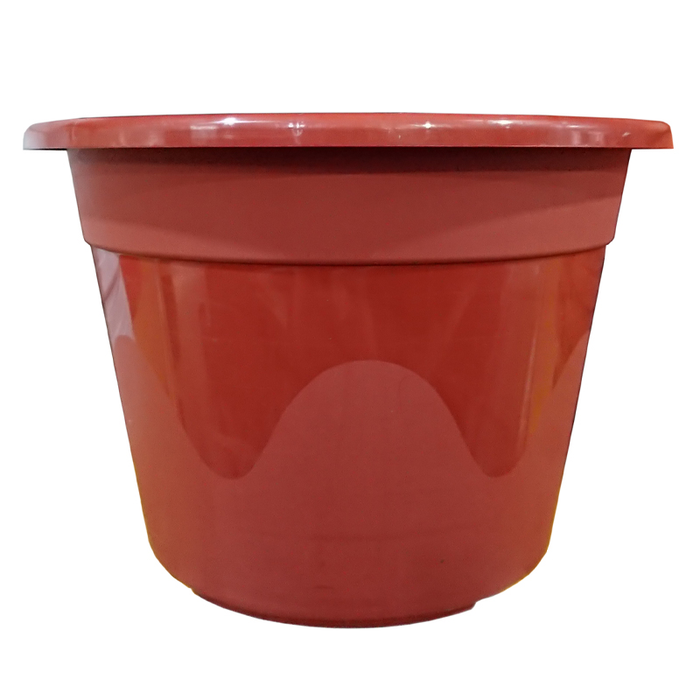 BABA No.230 Plastic Pot (Smoky Brown)