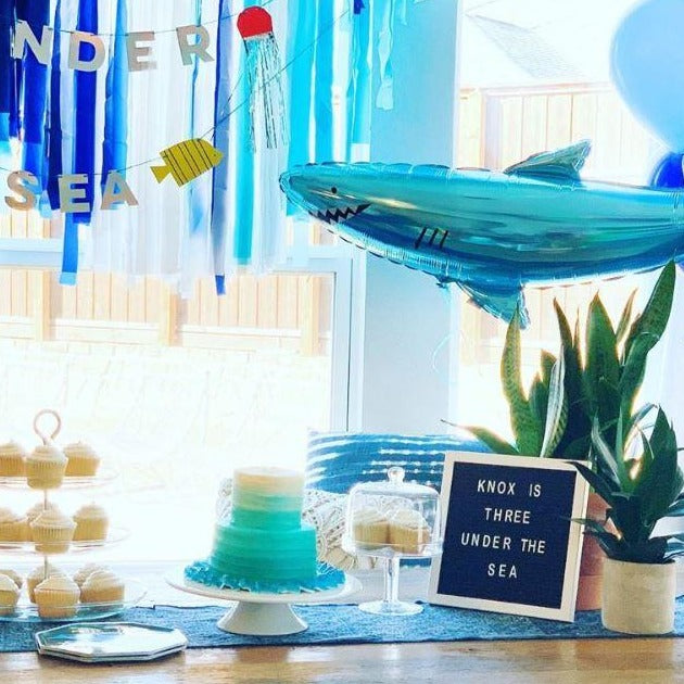 Under the Sea Kid's Birthday Party