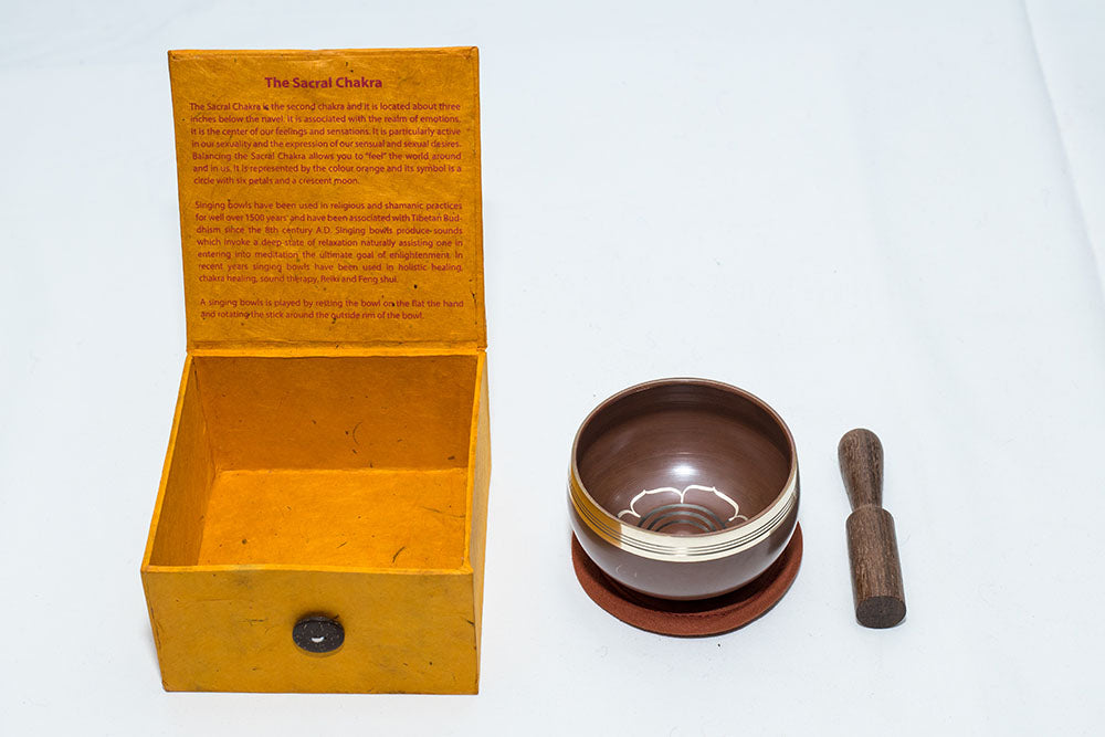 The Sacral Chakra Singing Bowl