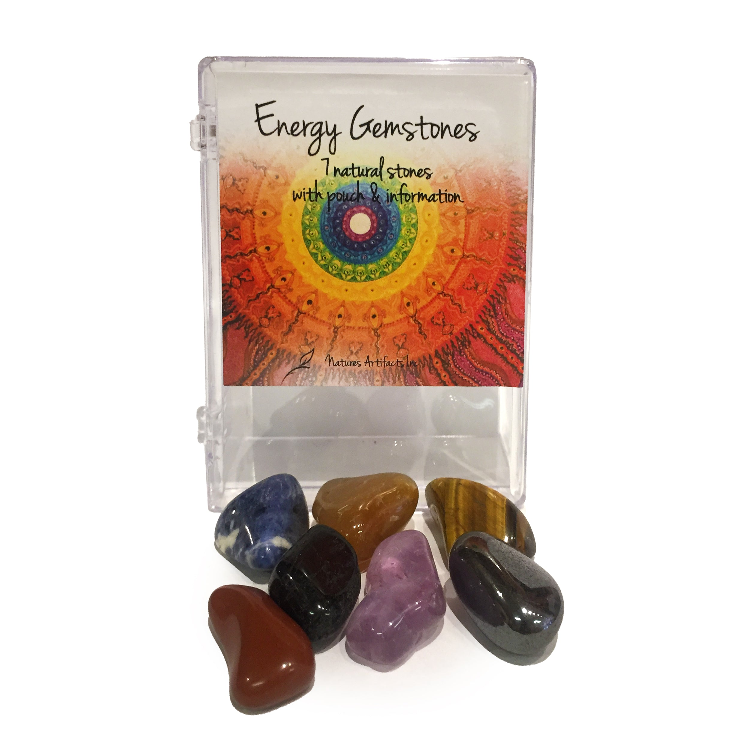 Energy Gemstones, 7 Natural Stones