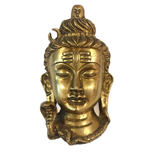 Shiva Head Wall Sculpture