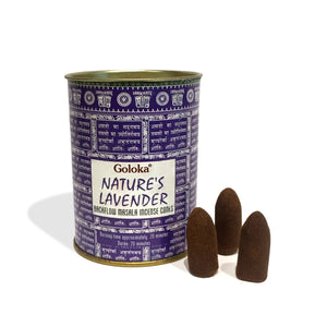 Backflow Incense Cone | Nature's Lavender