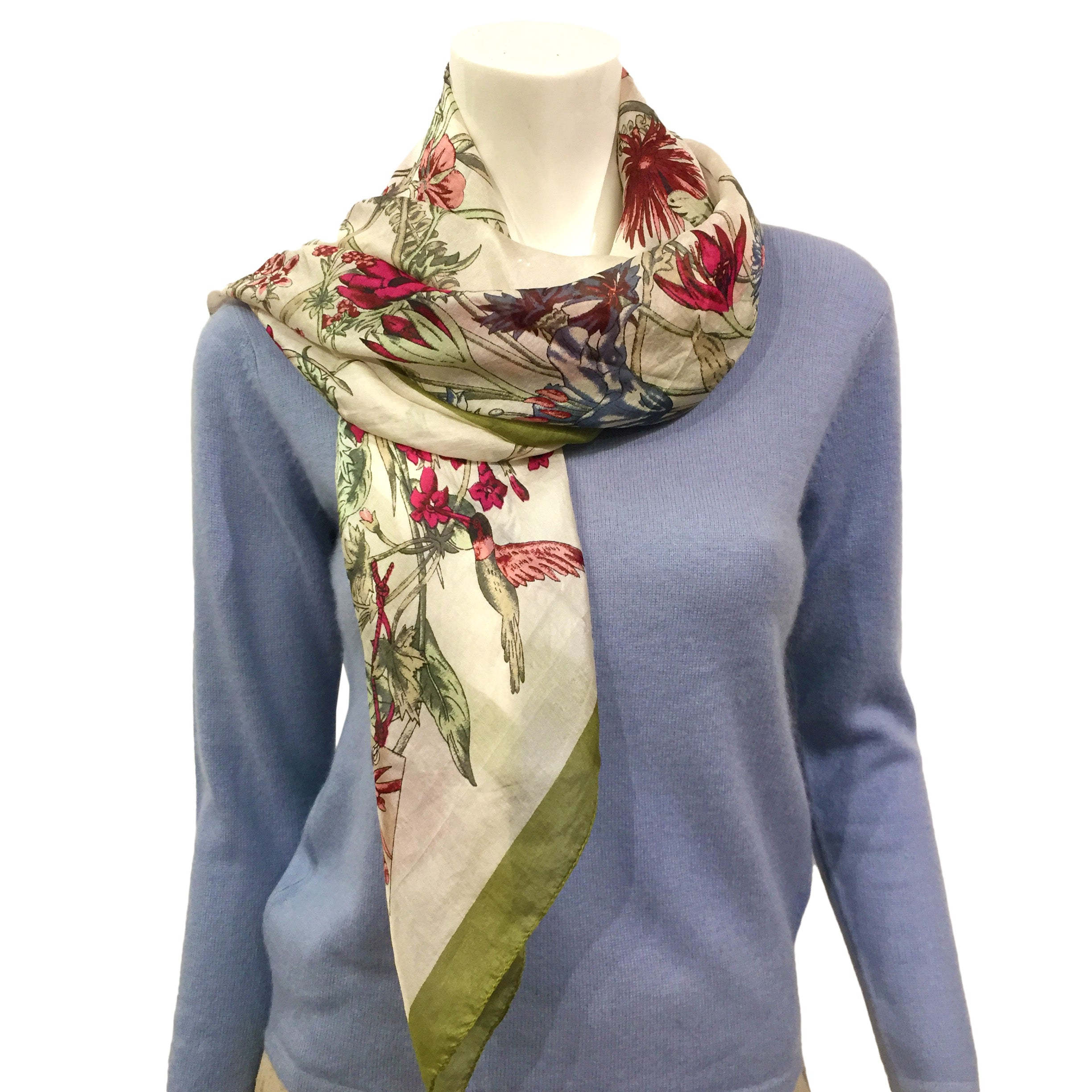 Silk Scarf (Square)