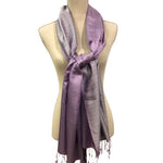 Load image into Gallery viewer, Silk Scarf with double shade