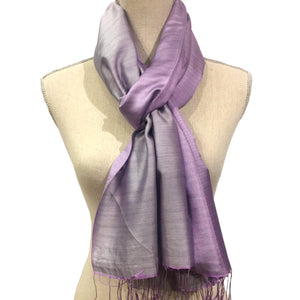 Silk Scarf with double shade