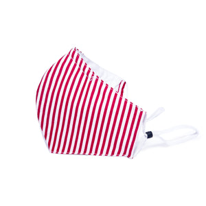 Stripe Pattern Cotton Mask