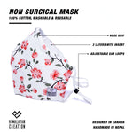 Load image into Gallery viewer, Floral Pattern Cotton Mask