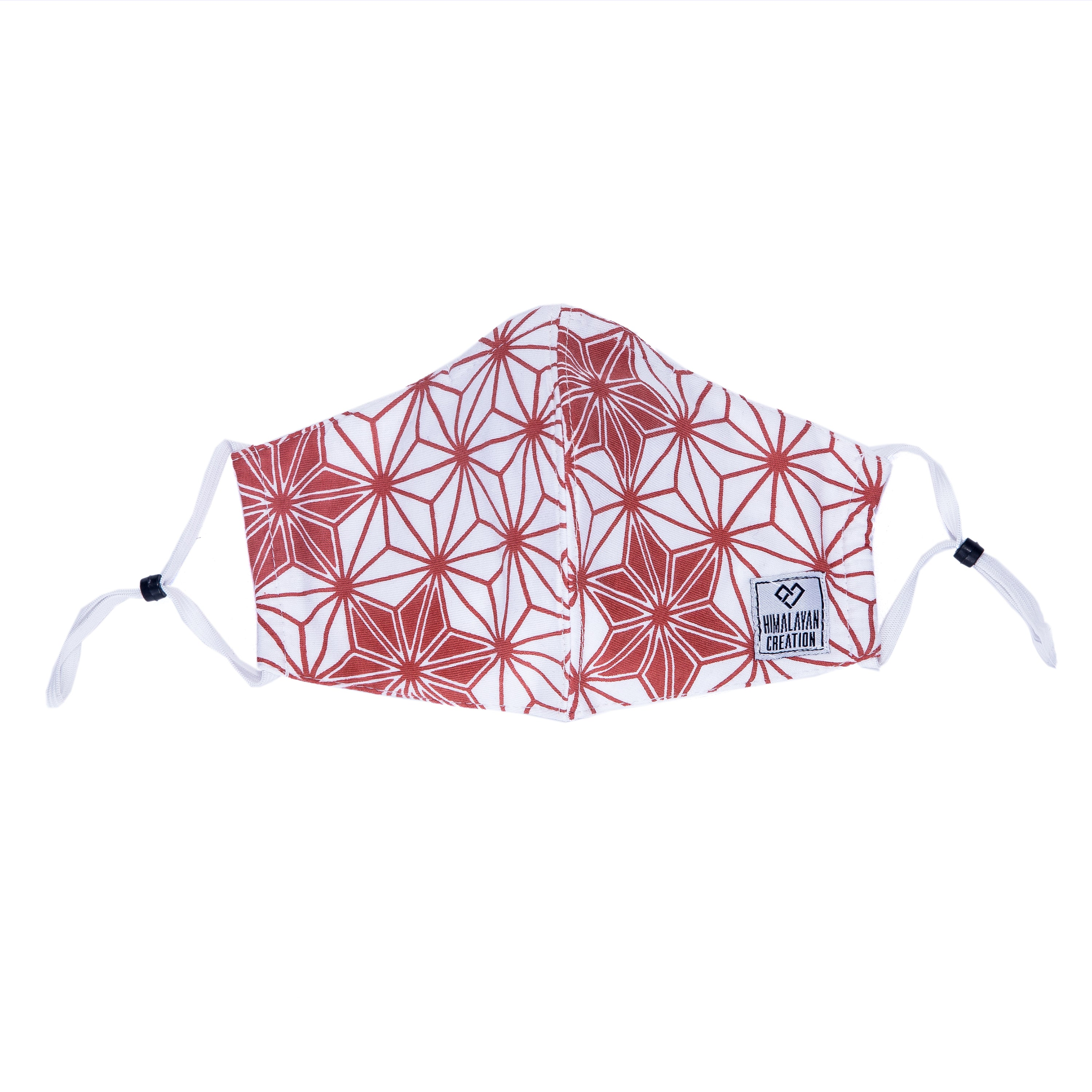 Asanoha Pattern Cotton Mask