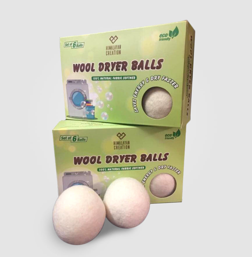 6 XL Wool Dryer Balls