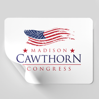 "Madison Cawthorn for Congress 6"" Sticker"
