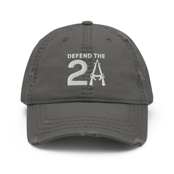 Defend The 2A Distressed Hat