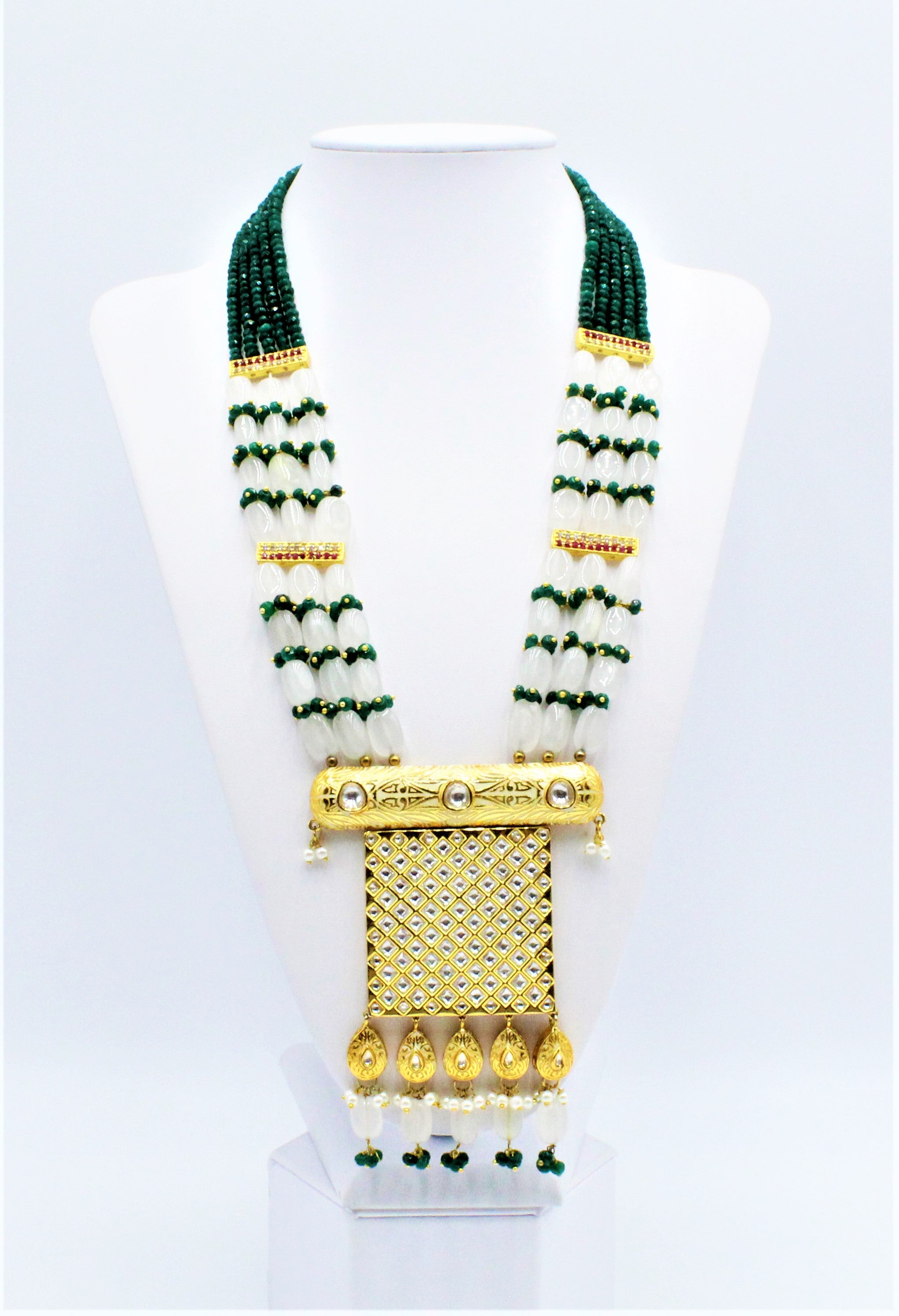Aanya Long Necklace Set