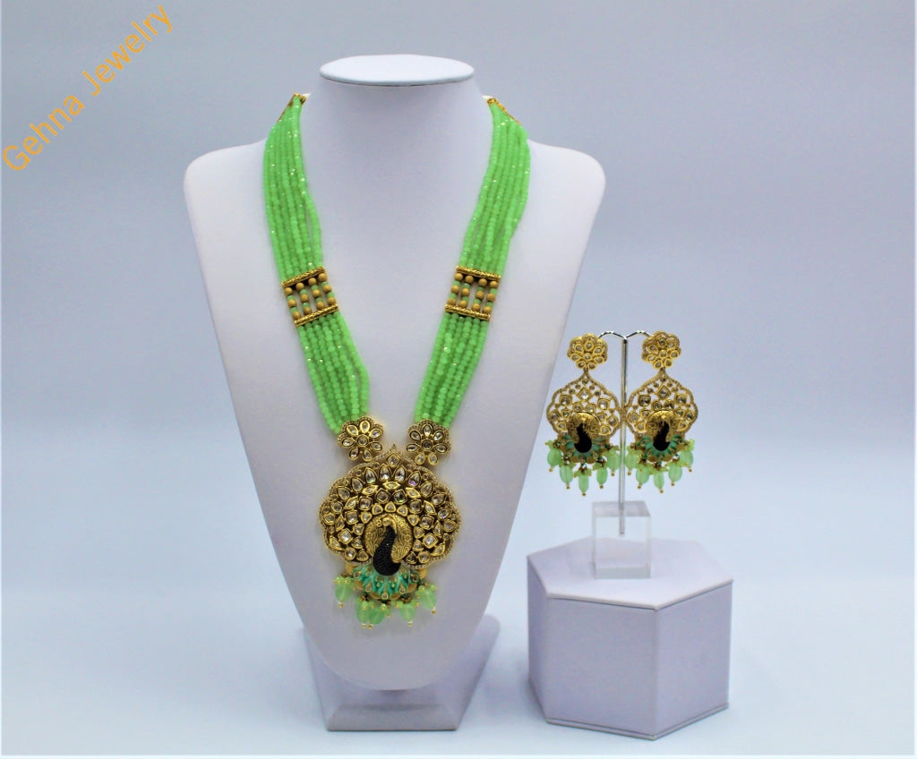 Geena Long Necklace Set