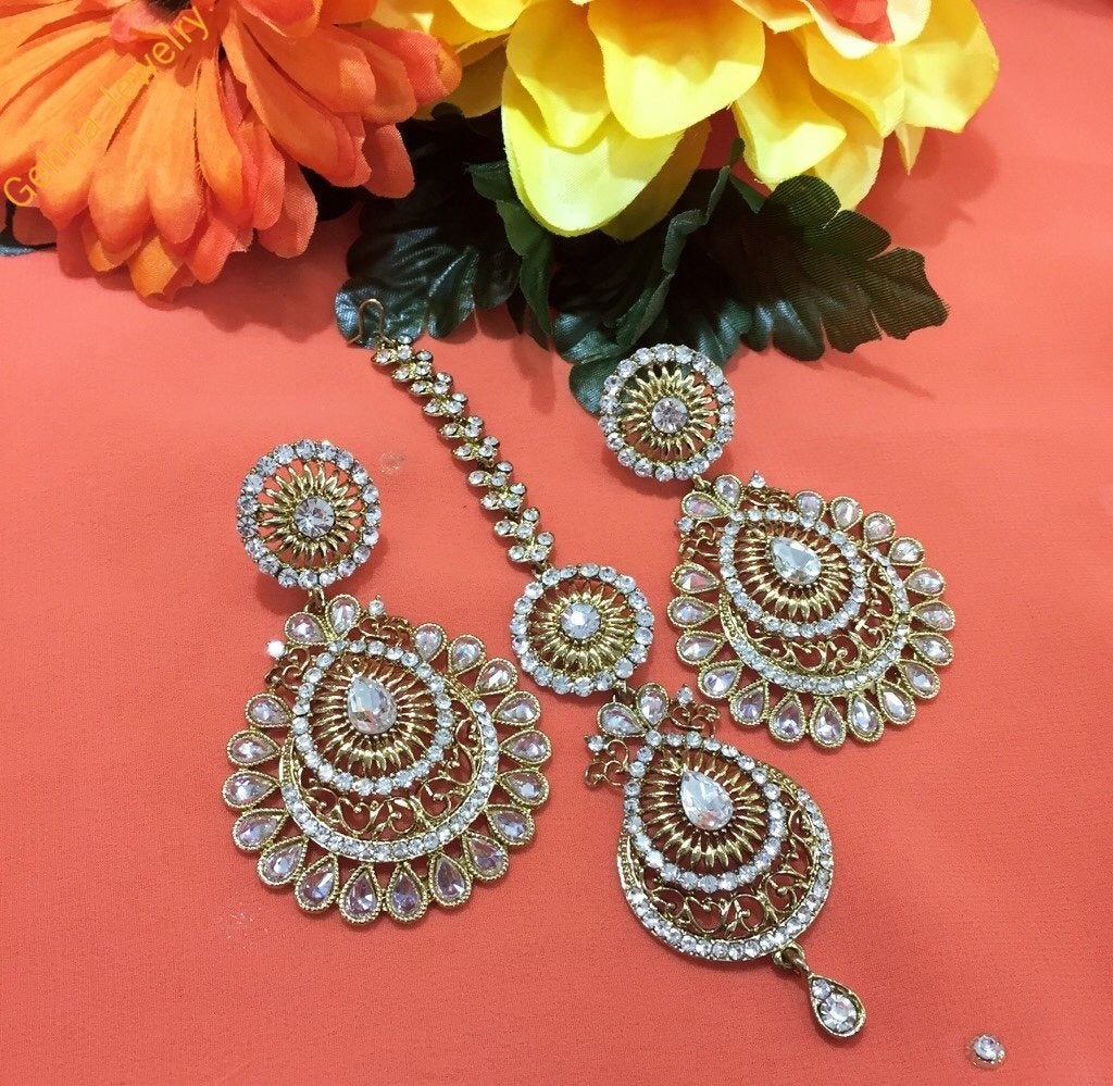 Giva Earrings And Tikka