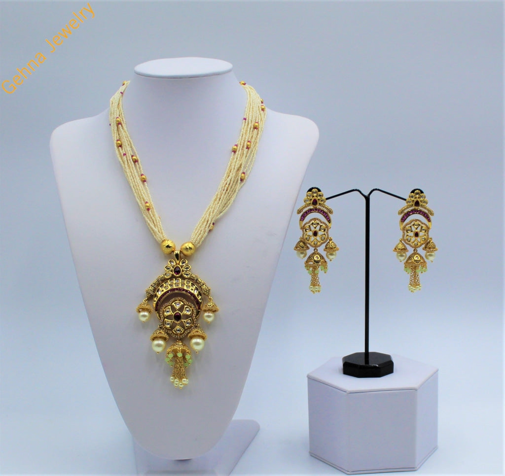 Saira Pendant Set Necklace