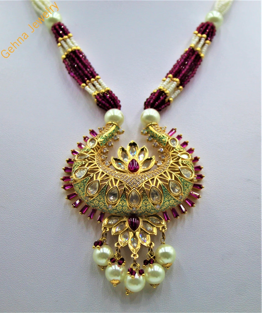 Umaiza Pendant Set Necklace
