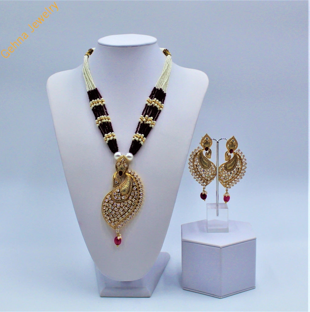 Zoya Pendant Set Necklace
