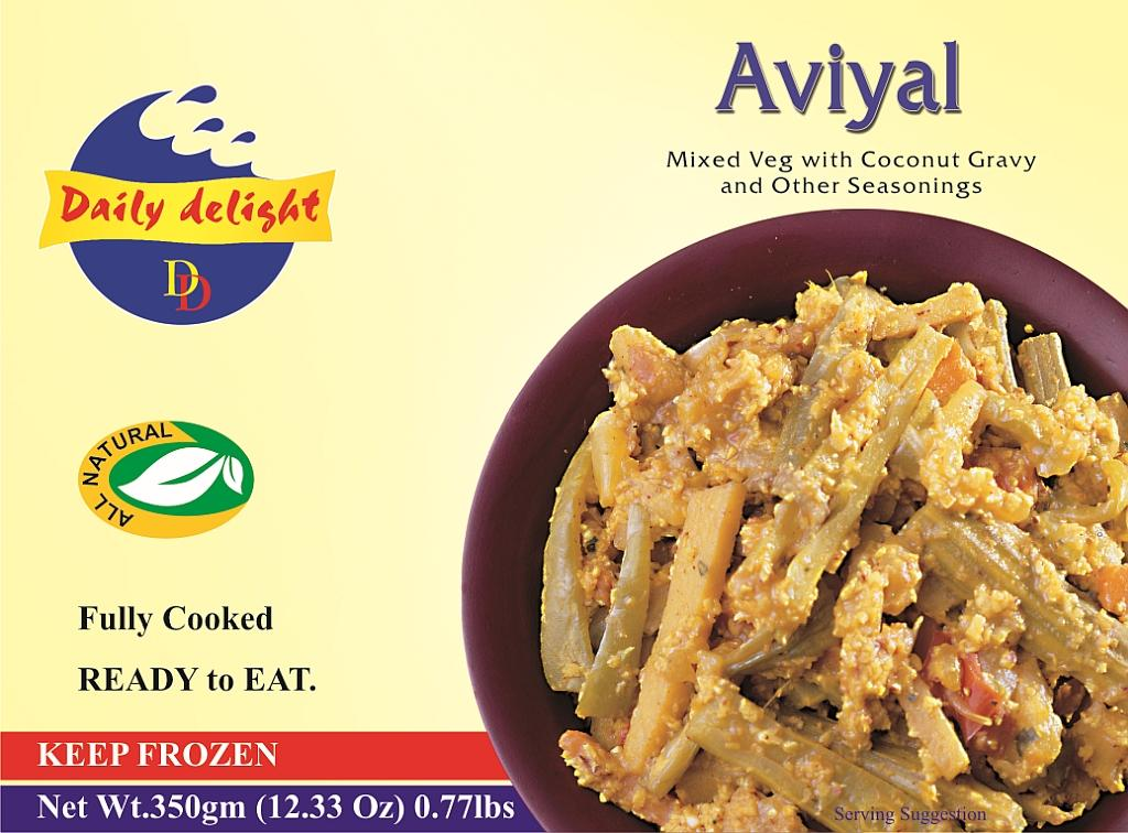Aviyal (Frozen Curry)