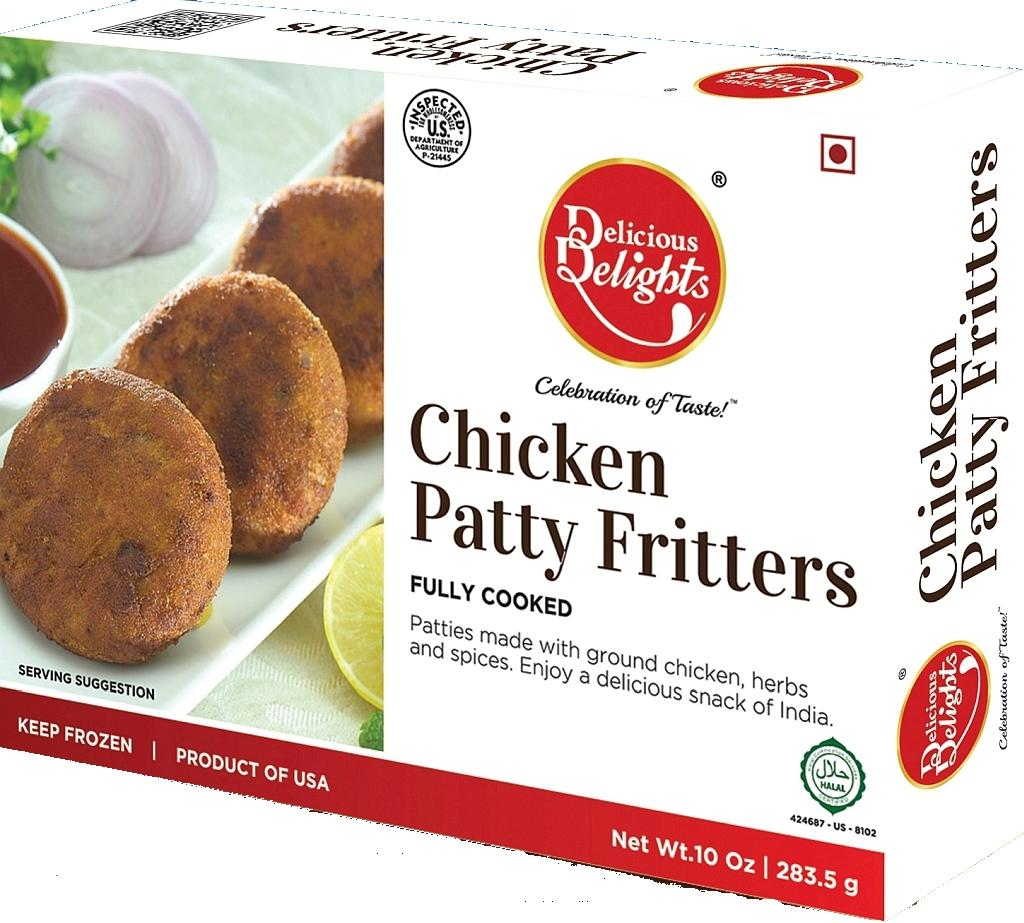 Chicken Patty Fritters