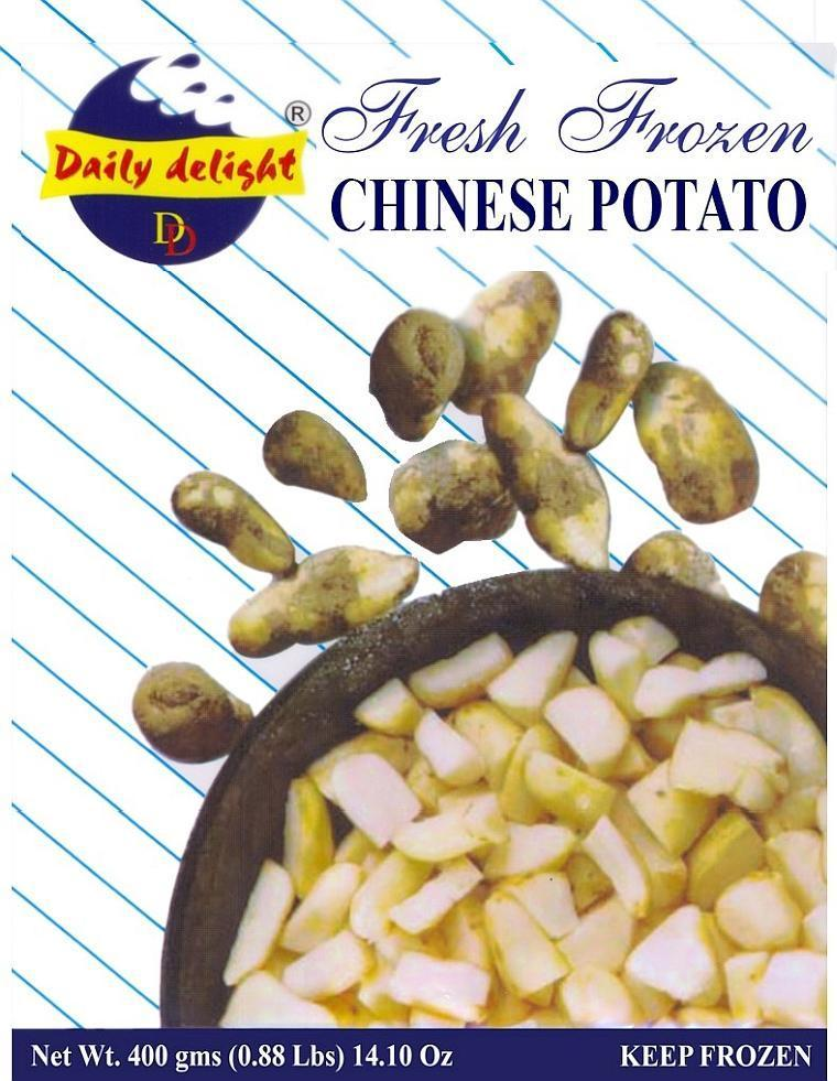Daily Delight Chinese Potato / Koorka (Frozen Vegetable - 400 g)