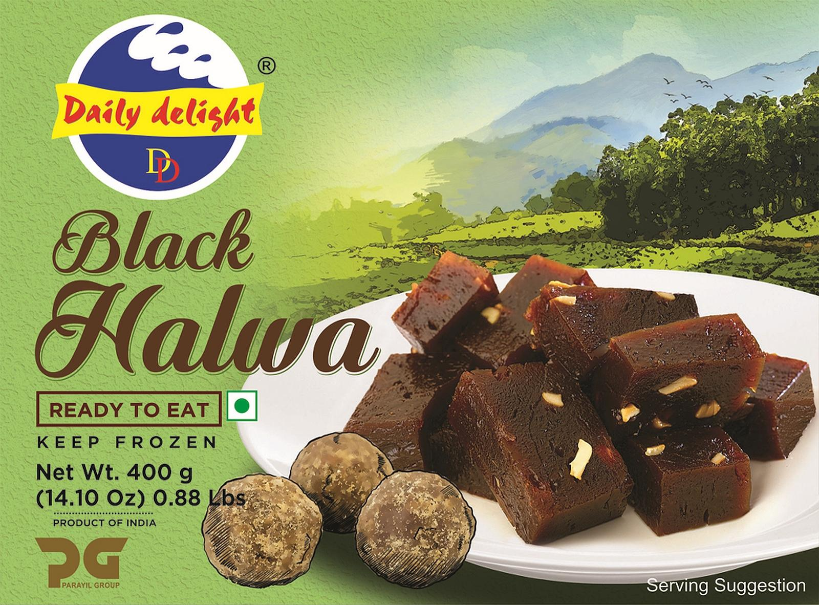 Daily Delight Black Halwa (Frozen Dessert - 400 g)