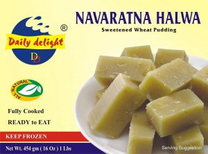 Navarathan Halwa Sweetened Wheat Pudding