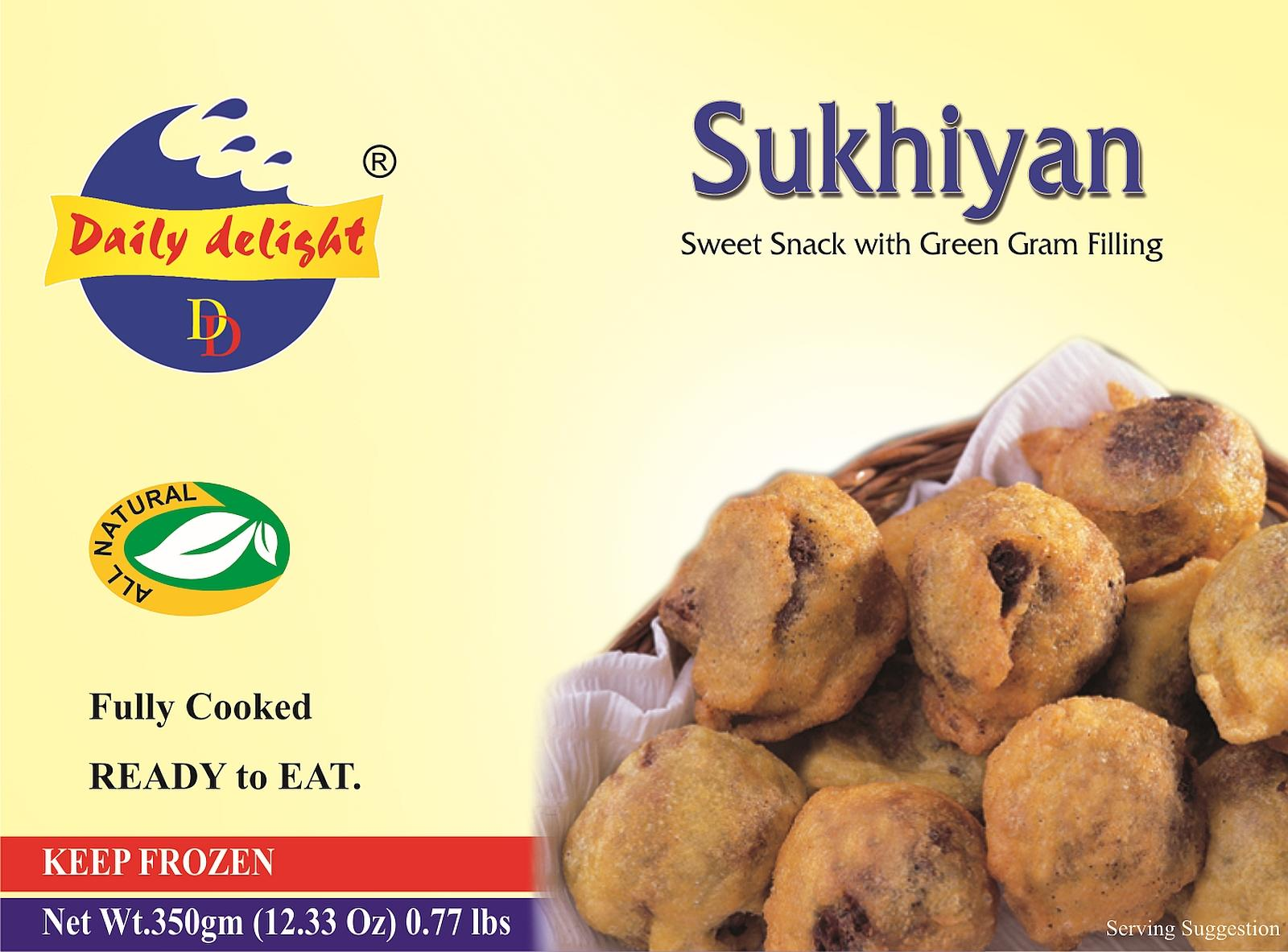 Daily Delight Sukhiyan (Frozen Snack - 350 g)