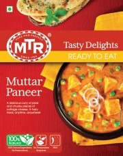 Muttar Paneer - Ready to Eat
