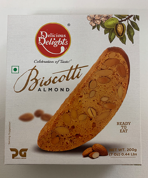Delicious Delights Almond Biscotti (200 g)
