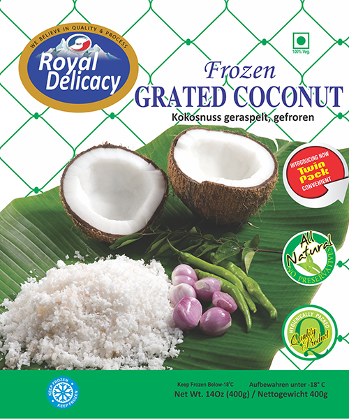 Royal Delicacy Grated Coconut (Frozen)