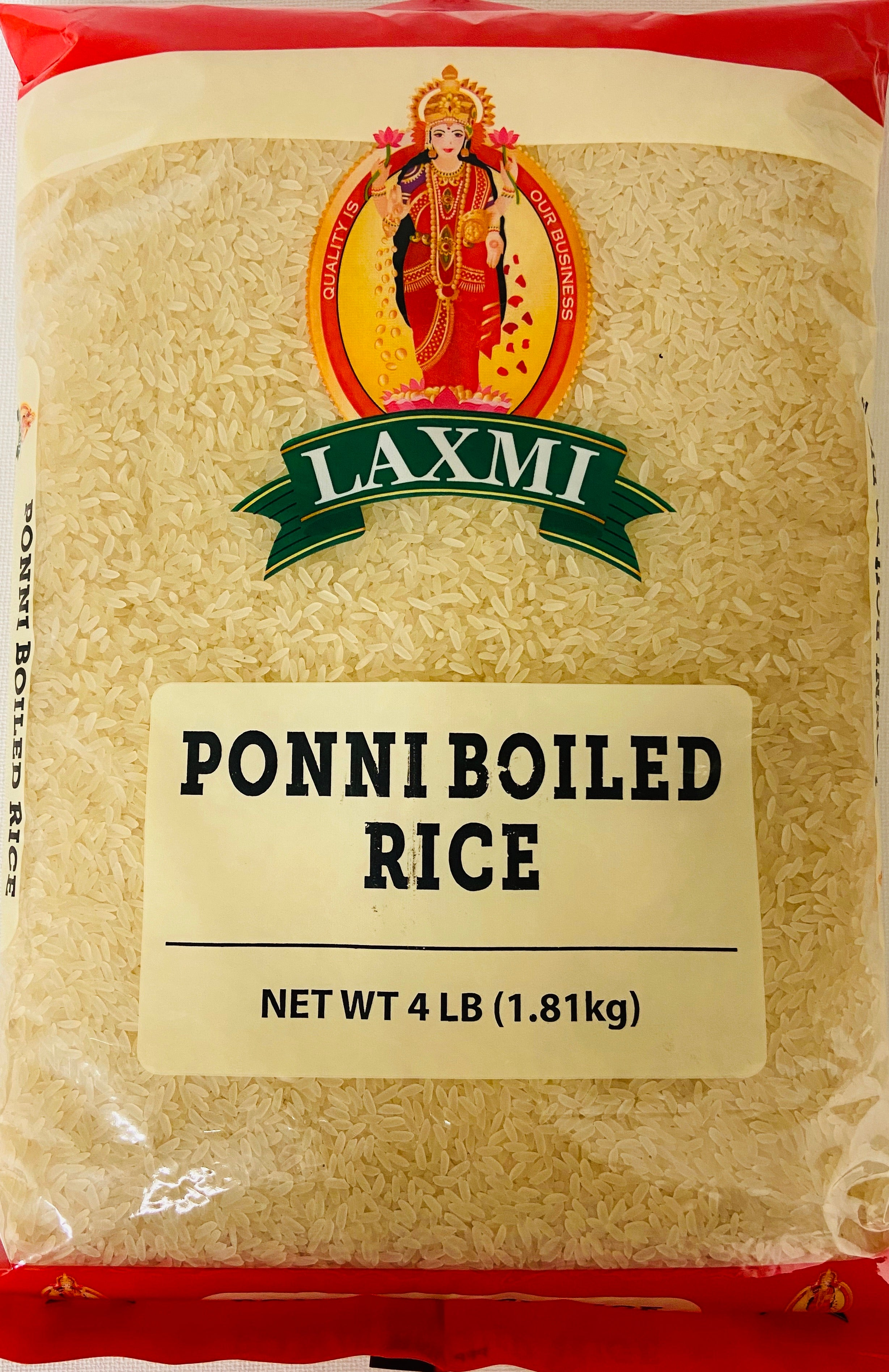 Ponni Boiled Rice (4 lbs)