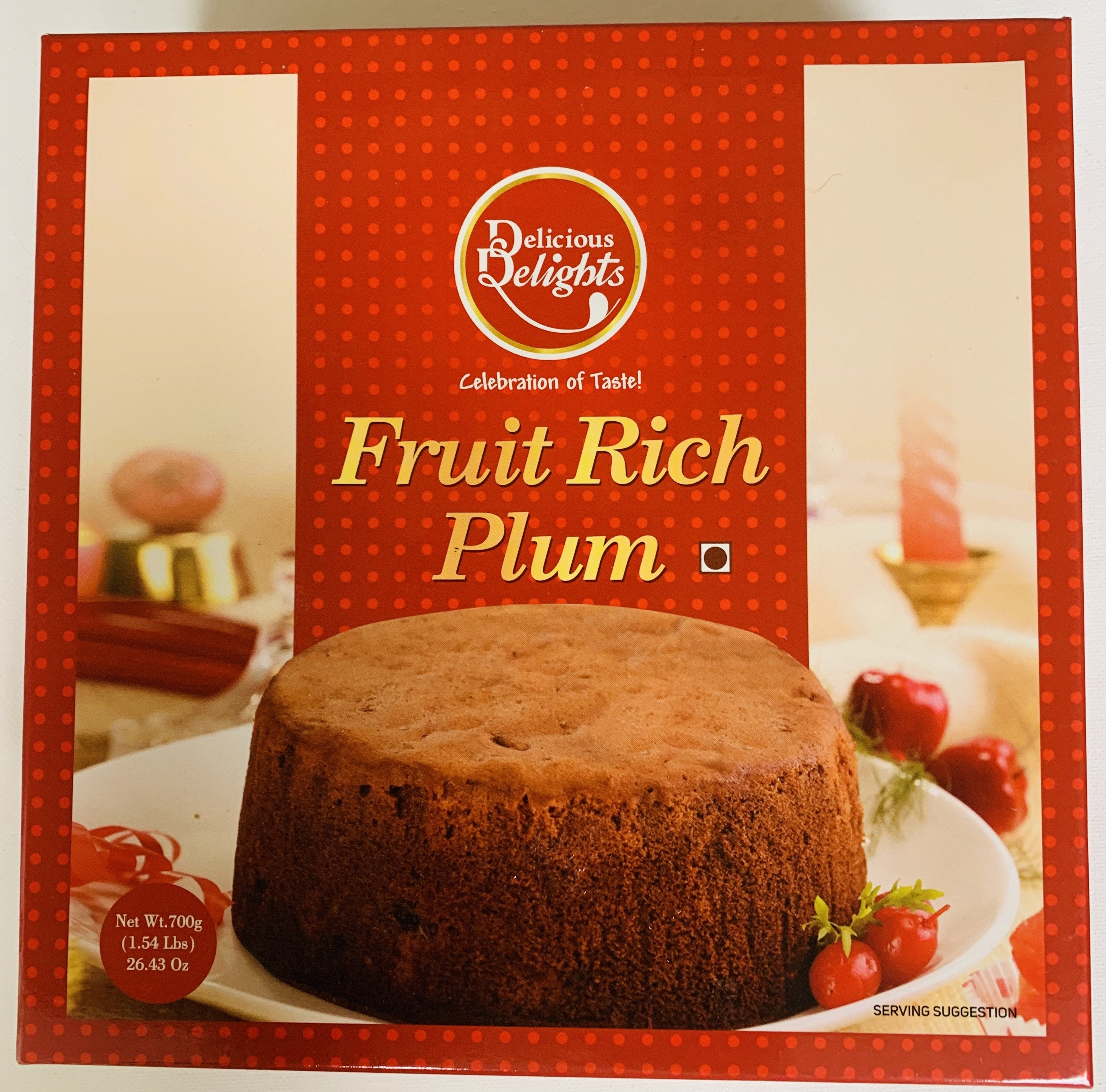 Fruit Rich Plum Cake (Holiday Gift Package)