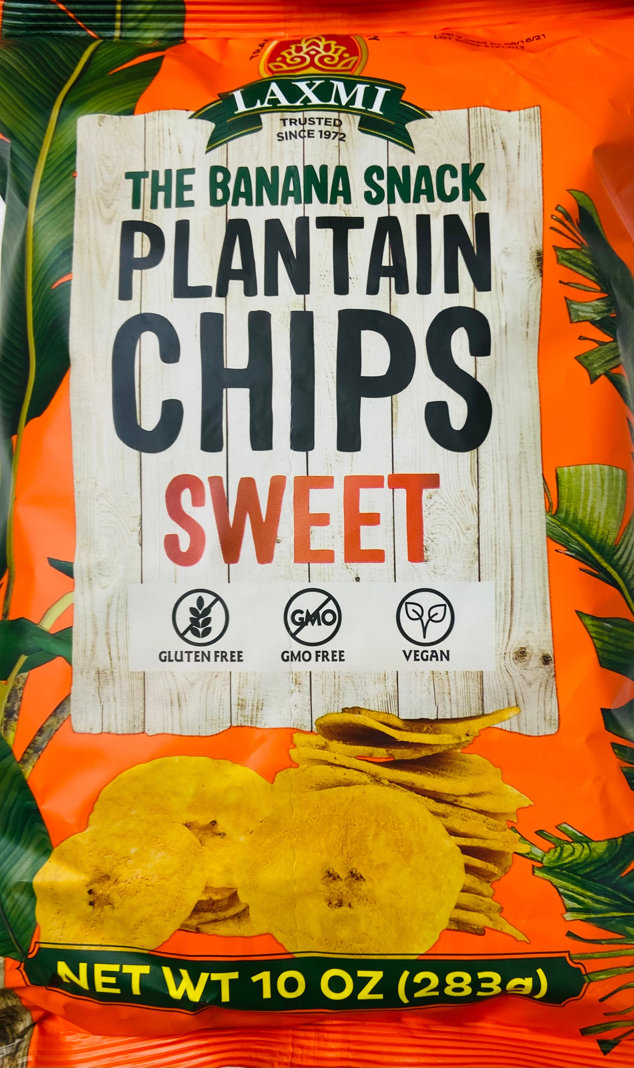 Plantain Chips Sweet