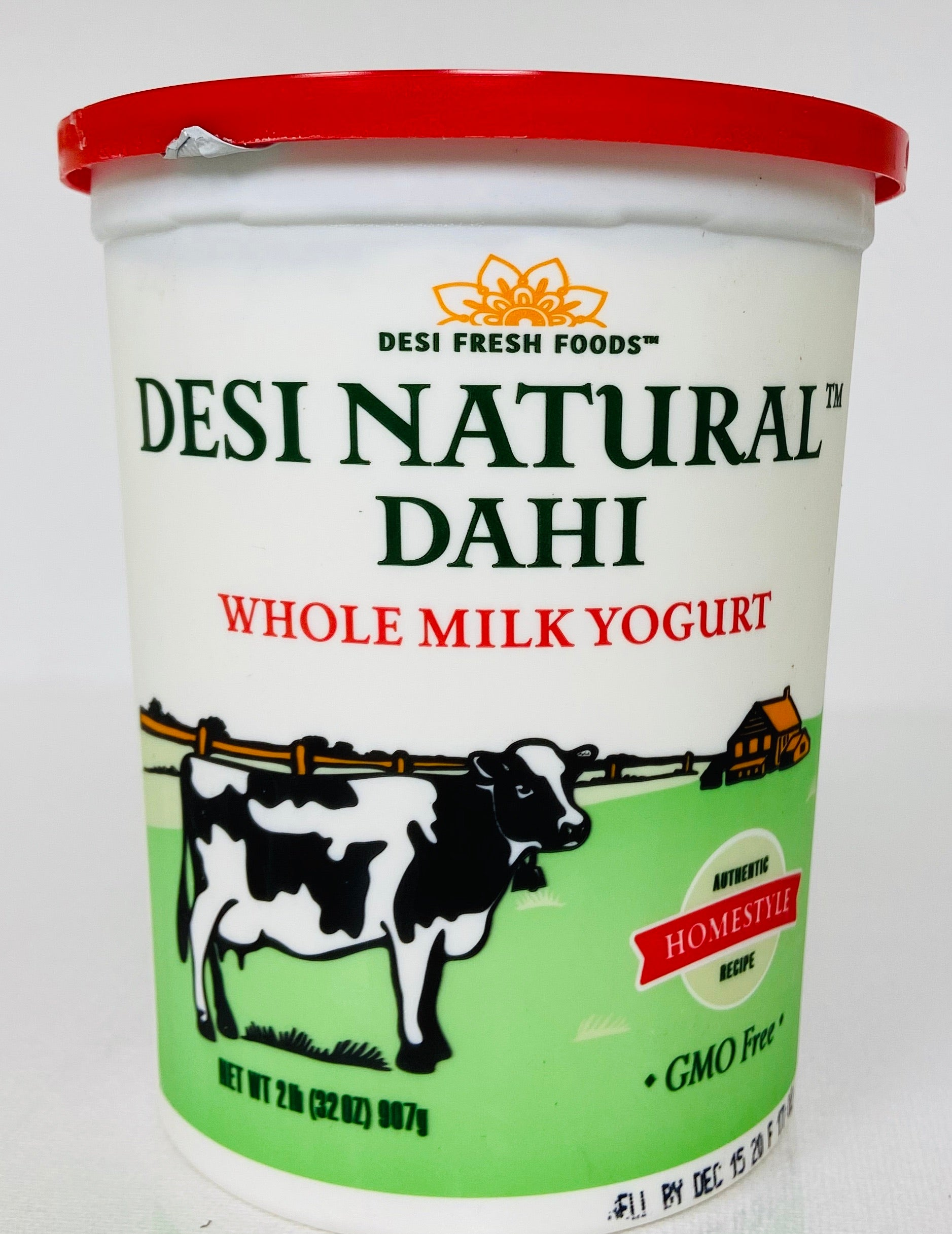 Dahi Whole Milk Plain Yogurt (2 lbs)