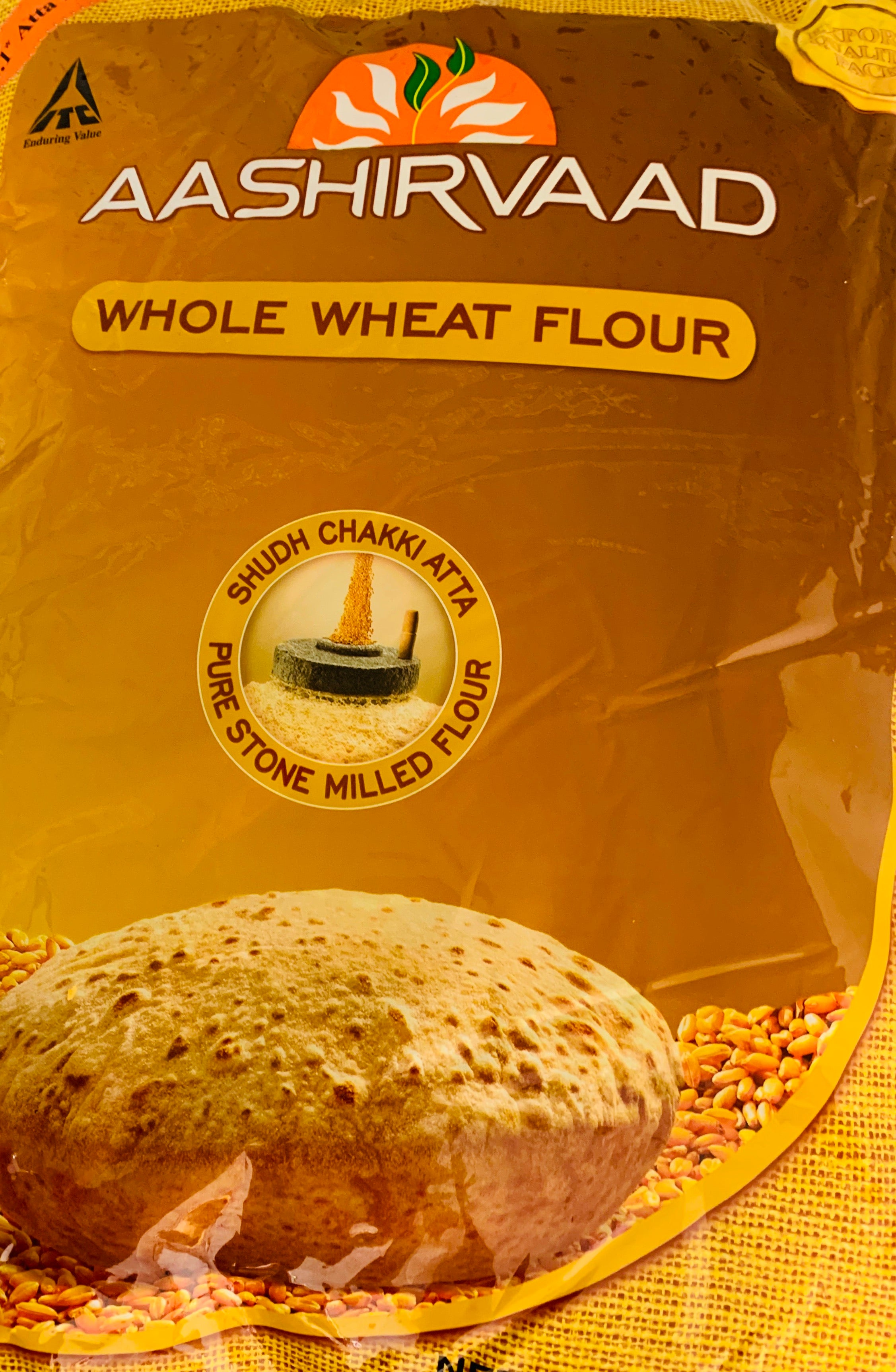 Whole Wheat Atta (Aashirwad - 10 lbs)
