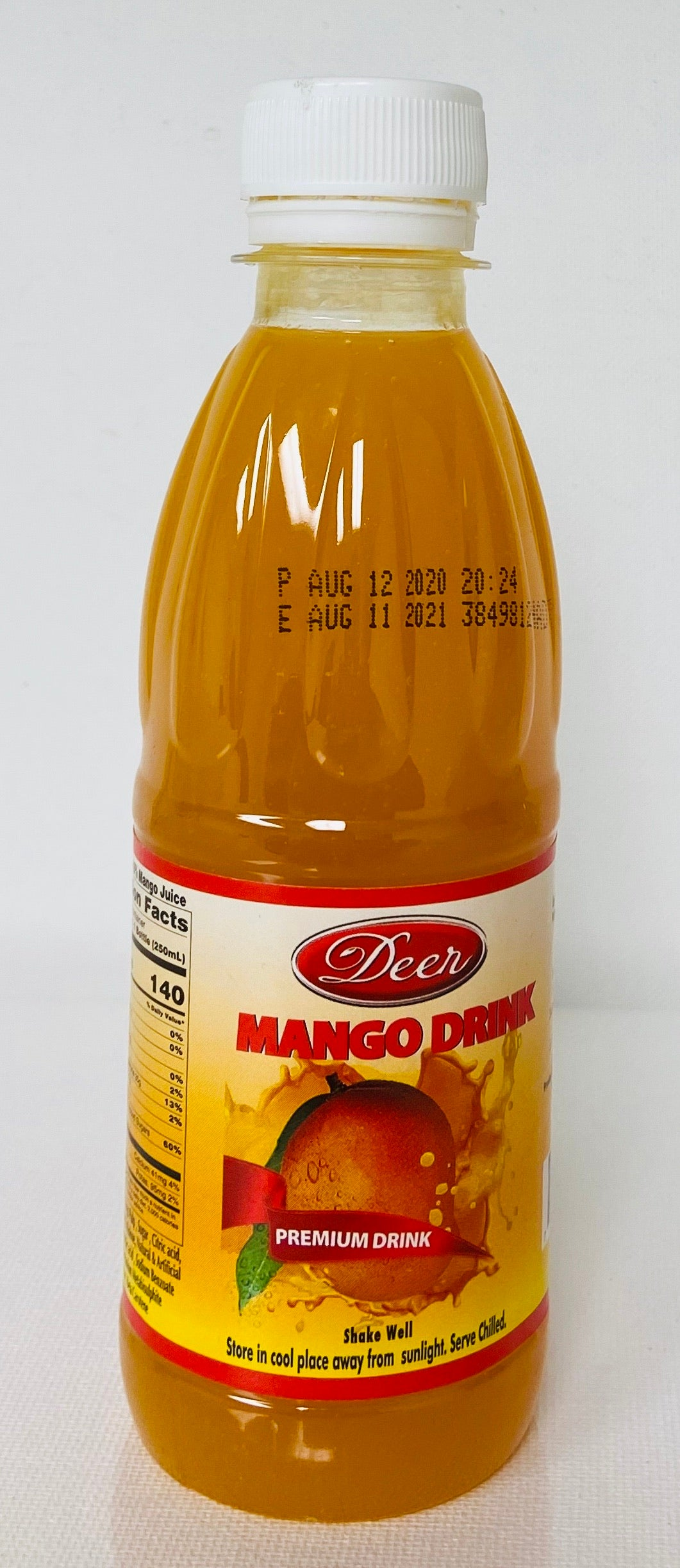 Deer Premium Mango Drink (250 ml)