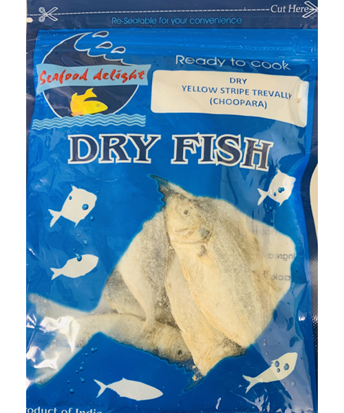 Dried Yellow Stripe Trevally Fish / Unakka Meen Choopara (100 g)