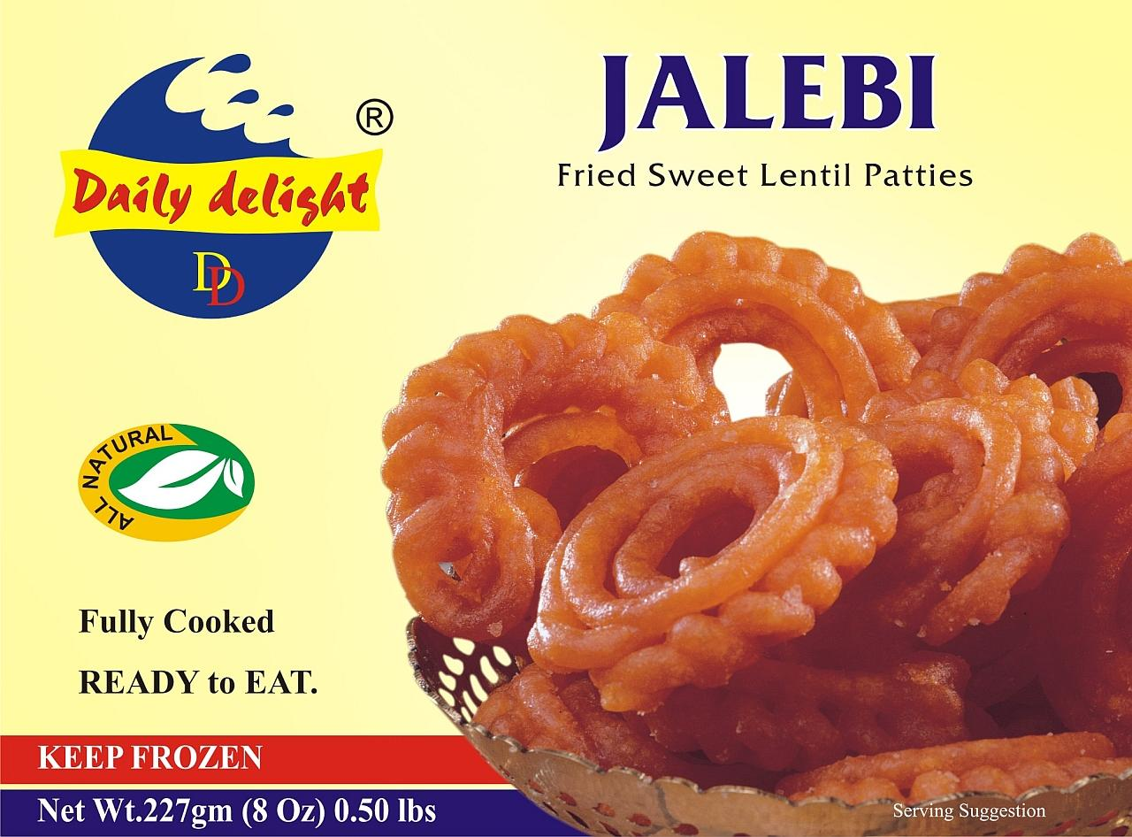 Daily Delight Jalebi (Frozen Sweet - 227 g)