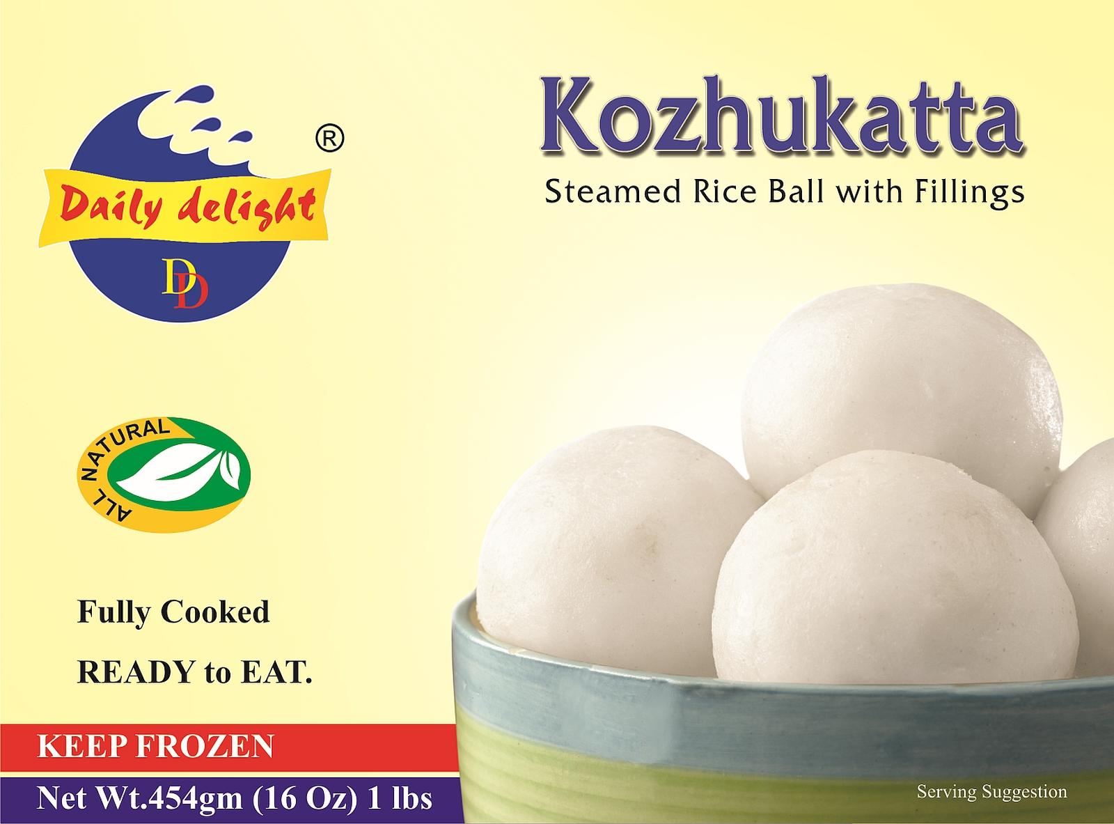 Daily Delight Kozhukatta (Frozen Snack - 1 lb)