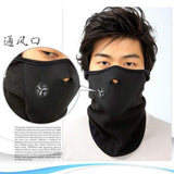 3 Pcs/Lot Ski Mask Cycling Face Cover Fleece Warm Bike Half Face Mask Hood Protection Ski Sports Outdoor Winter Neck Guard Scarf