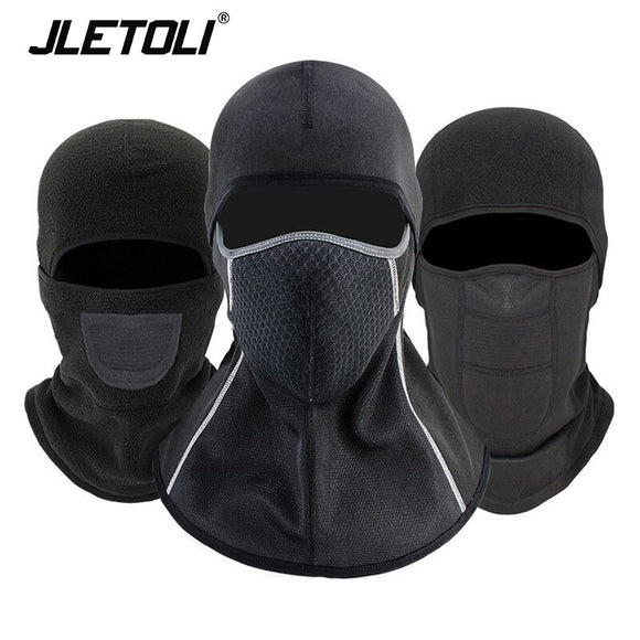 JLETOLI Winter Cycling Face Mask Fleece Keep Warm Windproof Cycling Cap Balaclava Fishing Hat Headwear Hiking Mask Ski Mask
