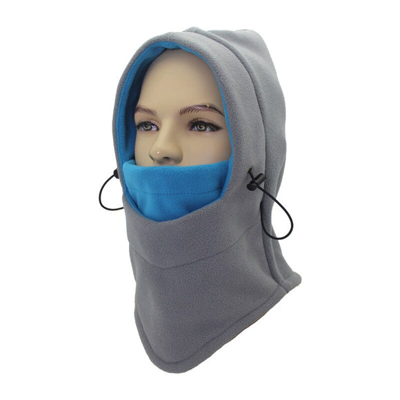 Windproof Cycling Face Mask Thermal Fleece Winter Balaclava Scarf Mask Ski Bike Neck Warmer Cycling Hiking Caps