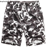 2019 camouflage Men Big Size 8XL Board Shorts Plus Size Beach Shorts camo Men Shorts Quick Drying Short Mens Pants Swimwear 4926