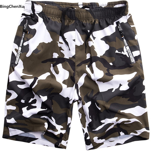 Big size camouflage Beach Boardshorts men Swimwear Mens Board Shorts Summer Swimsuit Bermuda Trunks Short S-8XL Plus Size 4917