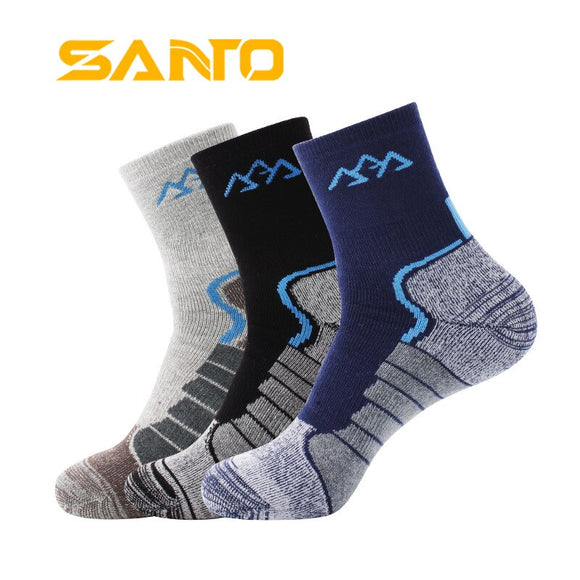 5 Pairs/Lot Men Comfort Quick Dry Socks Cycling Sport Yoga Socks Outdoor Hiking Camping Trekking Thicken Warm Winter Socks