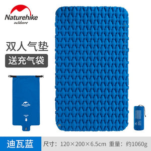 Naturehike Airbag Ultra-light Double Inflatable Pad Outdoor Air mattres Sleeping Pad