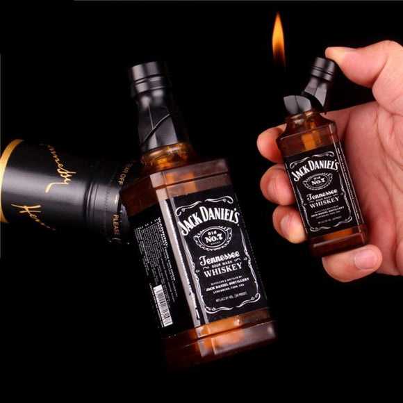 Mini Creative Lighter Wrench Can Basketball Fire Extinguisher Cannon Pressure-cooker Model Fire Starter Collection Without Fuel