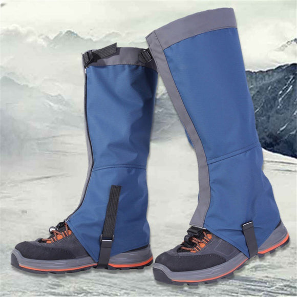 high quality Outdoor Snow Kneepad Skiing Gaiters Hiking Climbing Leg Protection Protection Safety Waterproof Leg Warmers