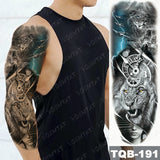 Large Arm Sleeve Tattoo